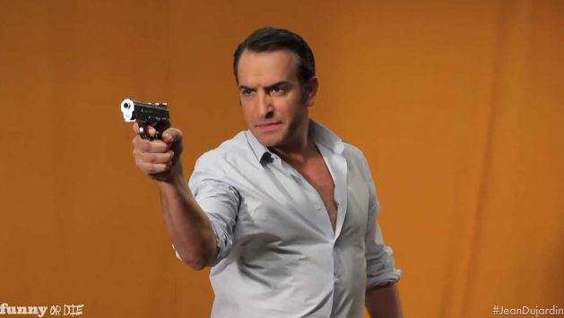 Funny or Die villain video Jean Dujardin