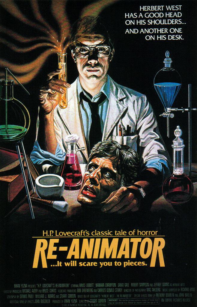 Reanimator poster