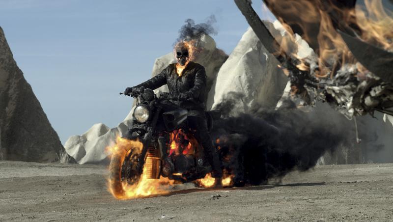 Ghost Rider 2 Spirit of Vengeance movie review