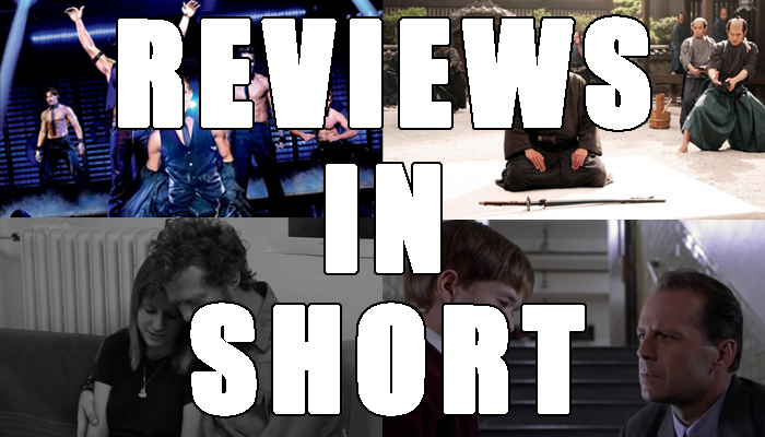 Reviews In Short Header - Magic Mike, Hara-Kiri, The Swell Season, The Sixth Sense