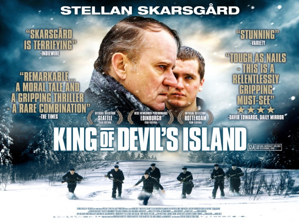 Competition - Win King of Devil's Island poster signed by Stellan Skarsgard