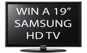 Competition: Win a 19 Inch Samsung HD Ready Freeview LED TV *CLOSED*