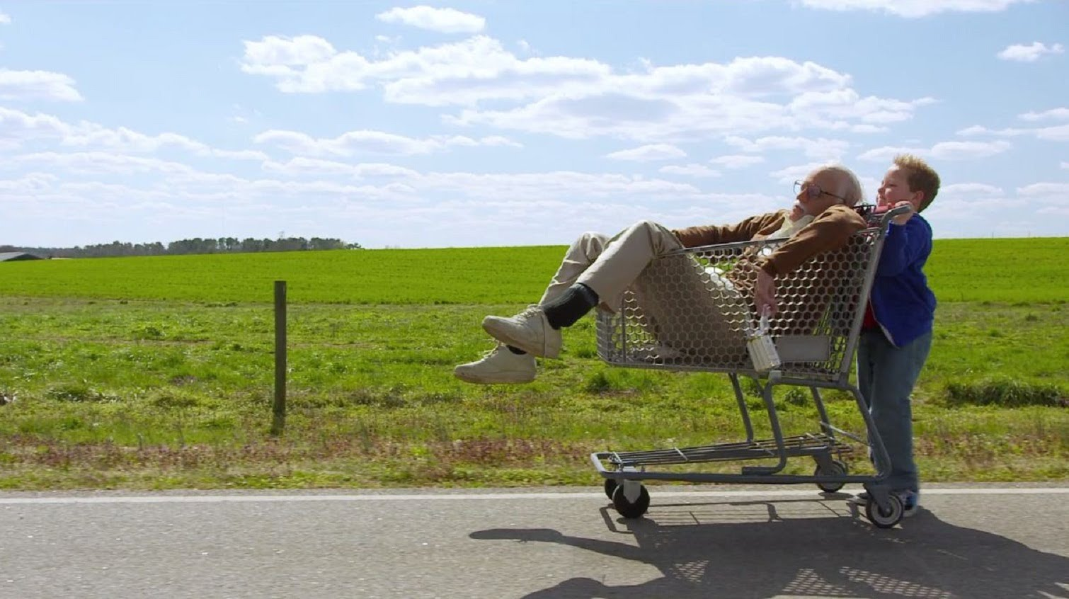 Jackass Presents: Bad Grandpa movie review