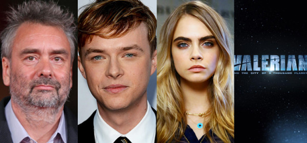 Luc Besson Adapting Sci-Fi 'Valerian' with Dane DeHaan & Carla Delevingne