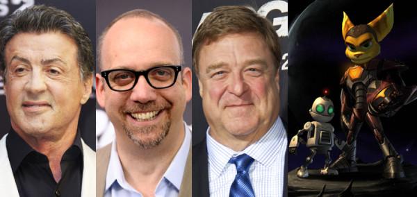 Sylvester Stallone, Paul Giamatti, John Goodman & More Join 'Ratchet & Clank' Movie
